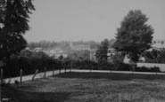 Brading, Church And Village 1890
