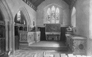 Brading, Church Interior, The Oglander Chapel 1935