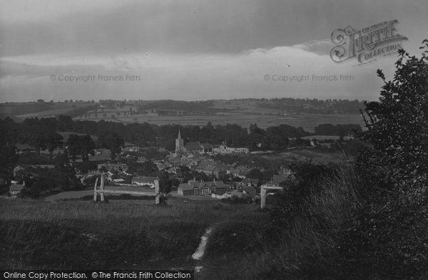 Brading, From The Downs 1923