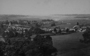 Brading, General View From The Downs c.1883