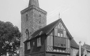 Brading, Old Town Hall And Church 1935