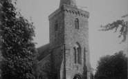 Brading, St Mary's Church Tower 1890