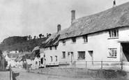 Bradninch, High Street 1870