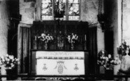 Bradninch, St Disen's Church, The Altar c.1960