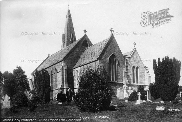 Bradpole, Holy Trinity Church 1897