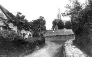 Bradpole, Village And Holy Trinity Church 1907