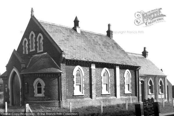 Bradwell, Methodist Church c.1955