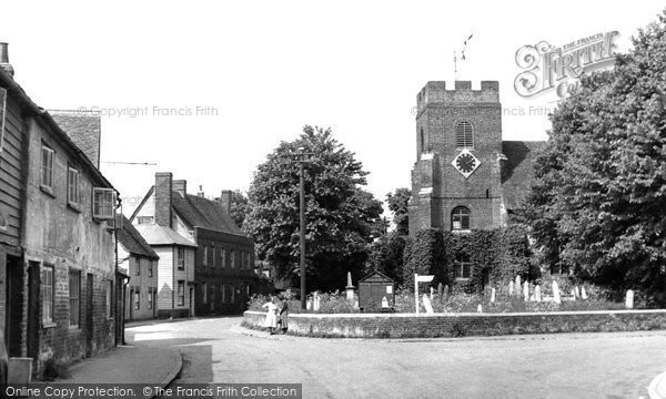 Bradwell On Sea, St Thomas's Church c.1955