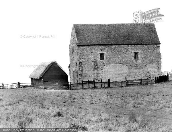 Bradwell On Sea, The Chapel Of St Peter On The Wall c.1960