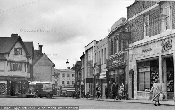 Braintree, Bank Street 1961