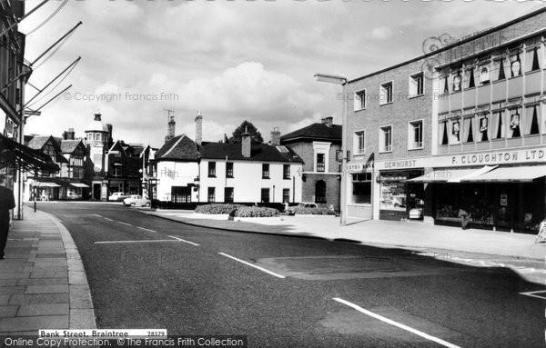 Braintree, Bank Street c.1960
