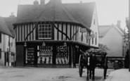 Braintree, Carts In Bank Street 1903