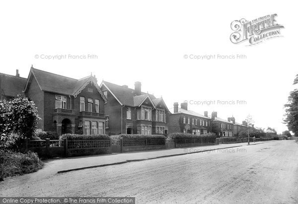 Braintree, Coggeshall Road 1923