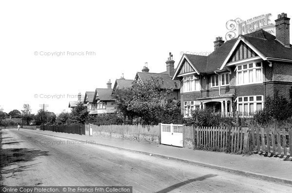 Braintree, Courtauld Road 1923