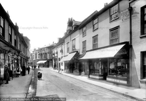 Braintree, High Street 1902