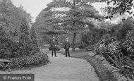 Braintree, In The Public Gardens 1909