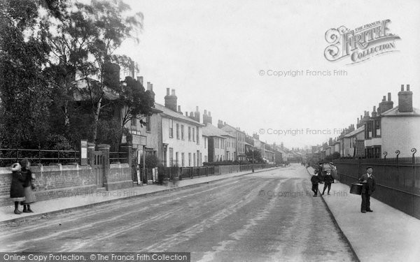 Braintree, Manor Road 1906