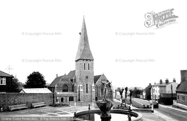 Braintree, Parish Church Of St Michael c.1965