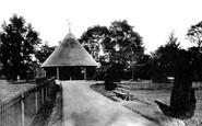 Braintree, Public Gardens 1900