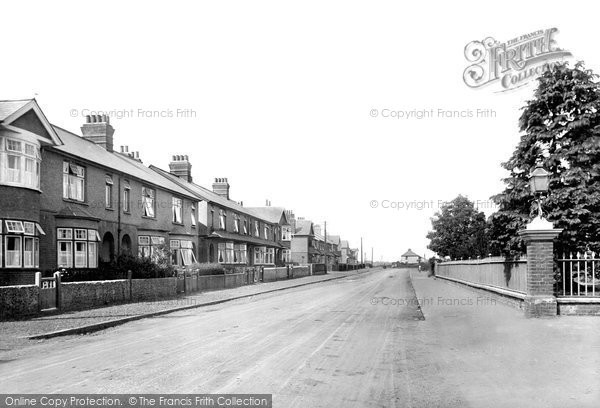 Braintree, Rayne Road 1923