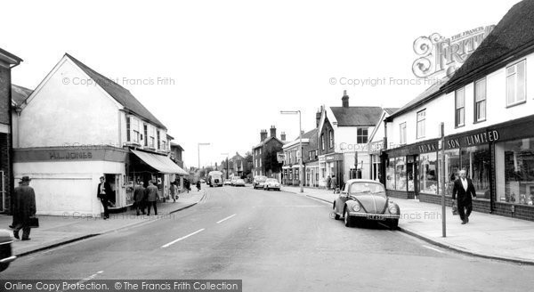 Photo of Braintree, Rayne Road c1965