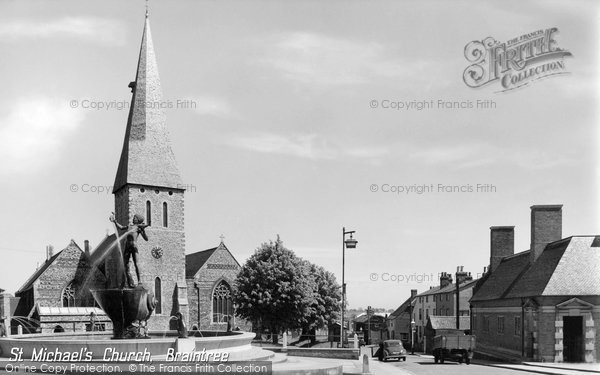 Braintree, St Michael's Church c.1960
