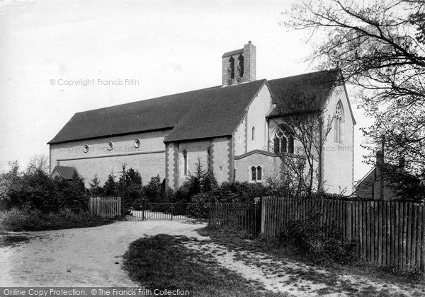 Braintree, St Peter's Church 1906