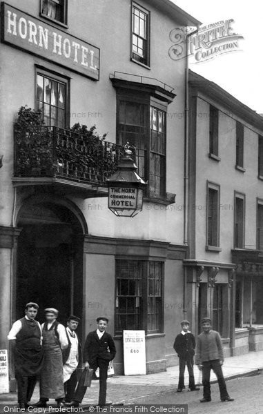 Braintree, The Horn Hotel, High Street 1900