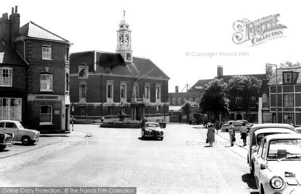 Braintree, The Market Square c.1955