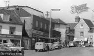 Braintree, The Market Square, Shops c.1960