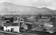 Braithwaite, Main Street Towards Skiddaw c.1955