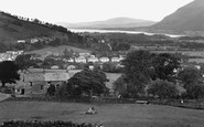 Braithwaite, Village And Bassenthwaite Lake c.1955
