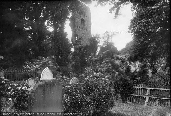 Bramber, Castle 1914