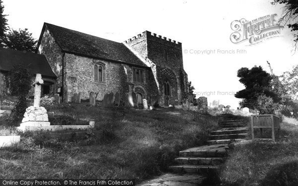Bramber, St Nicholas' Church c.1955