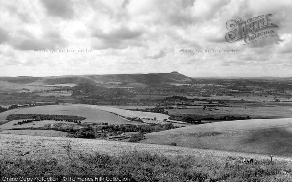 Bramber, The Downs c.1965