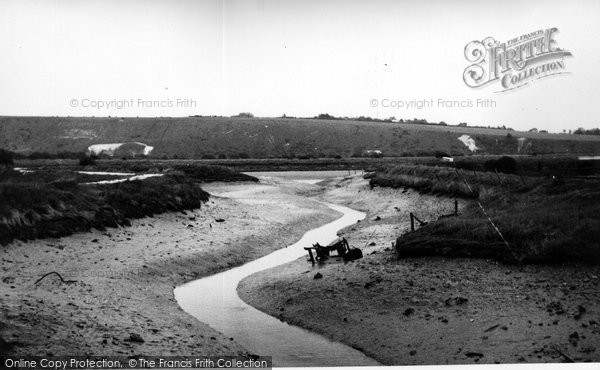 Bramber, The River Adur c.1955