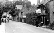 Bramber, The Village Street c.1950