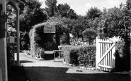 Bramber, Yew Tree Tea Gardens c.1950