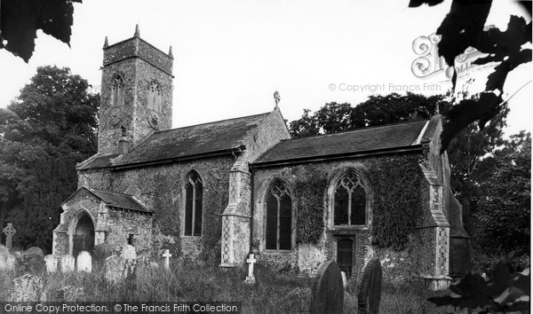 Bramerton, St Peter's Church c.1955