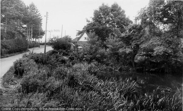 Bramerton, The Pond c.1955