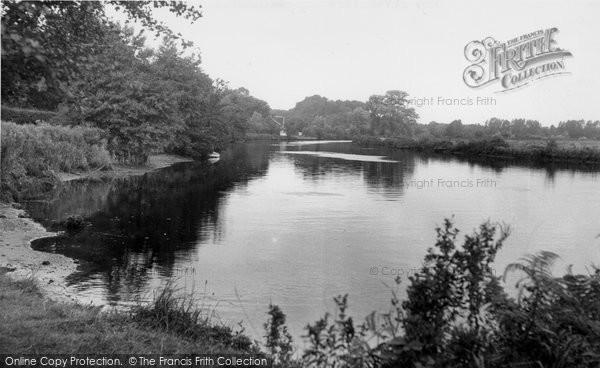 Bramerton, The River Yare c.1955