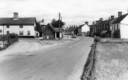 Bramfield, The Street c.1955