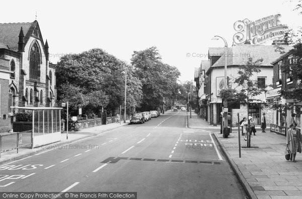 Bramhall, Bramhall Lane c.1965