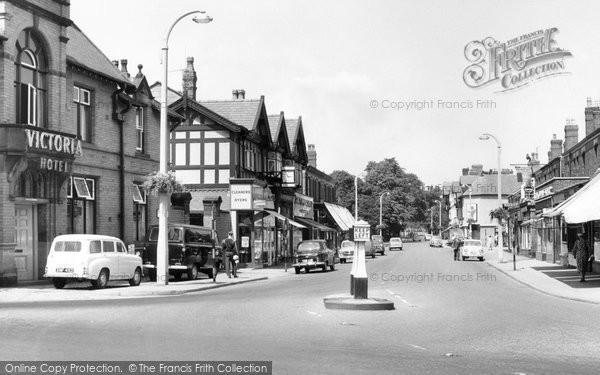 Bramhall, Bramhall Lane South c.1965