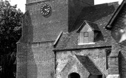Bramley, All Saints Church c.1955
