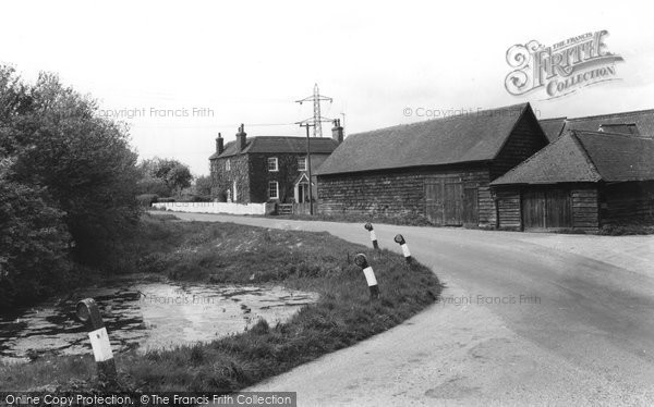 Bramley, Hollycross Farm c.1960