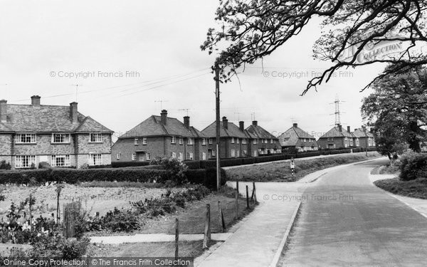 Bramley, Moat Close c.1960