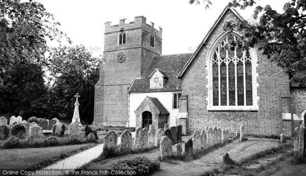 Photo of Bramley, St James Church c1960