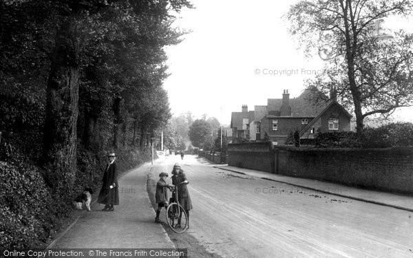 Bramley, Station Road 1921