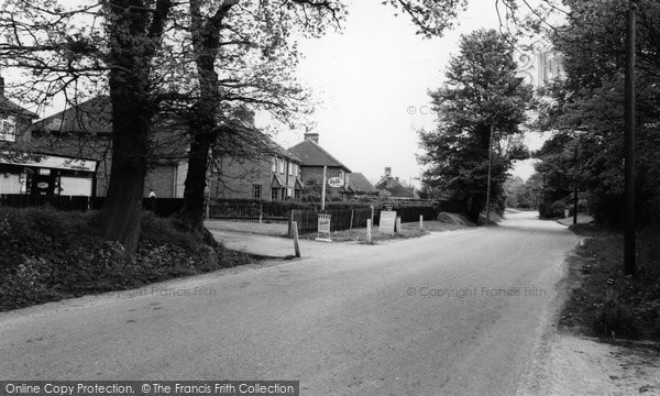 Bramley, Station Road c.1960